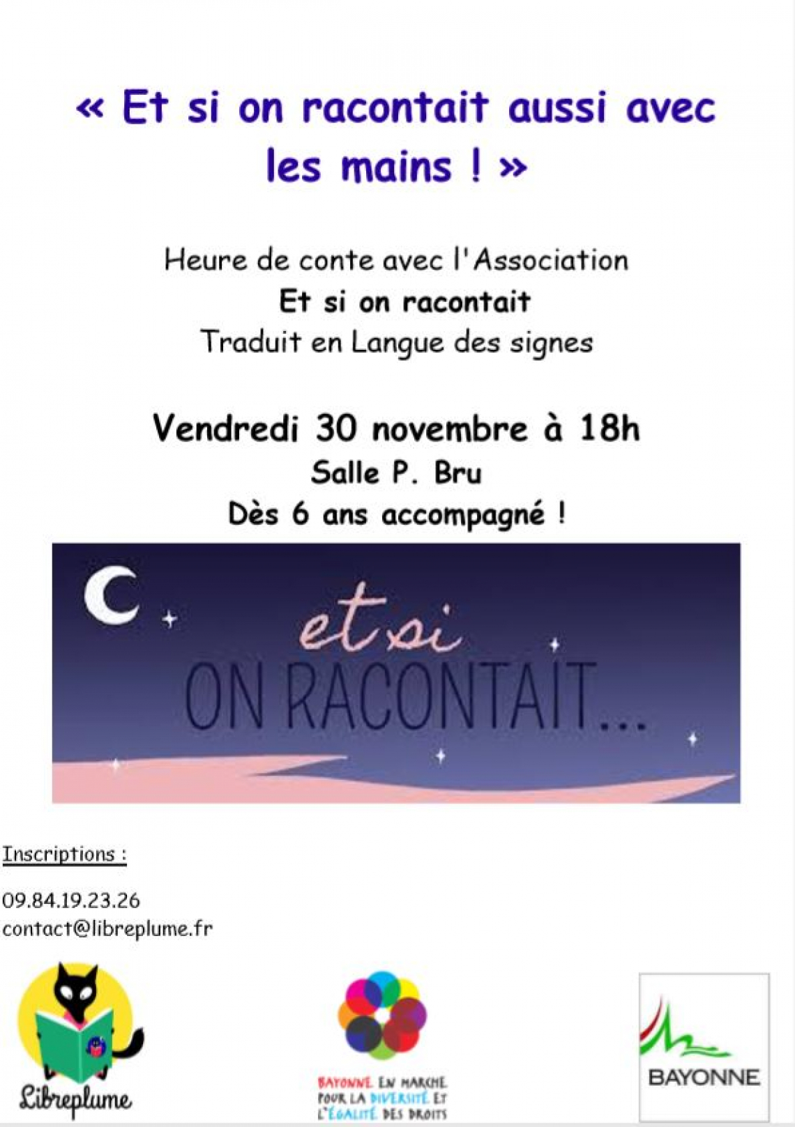 Et si on racontait...